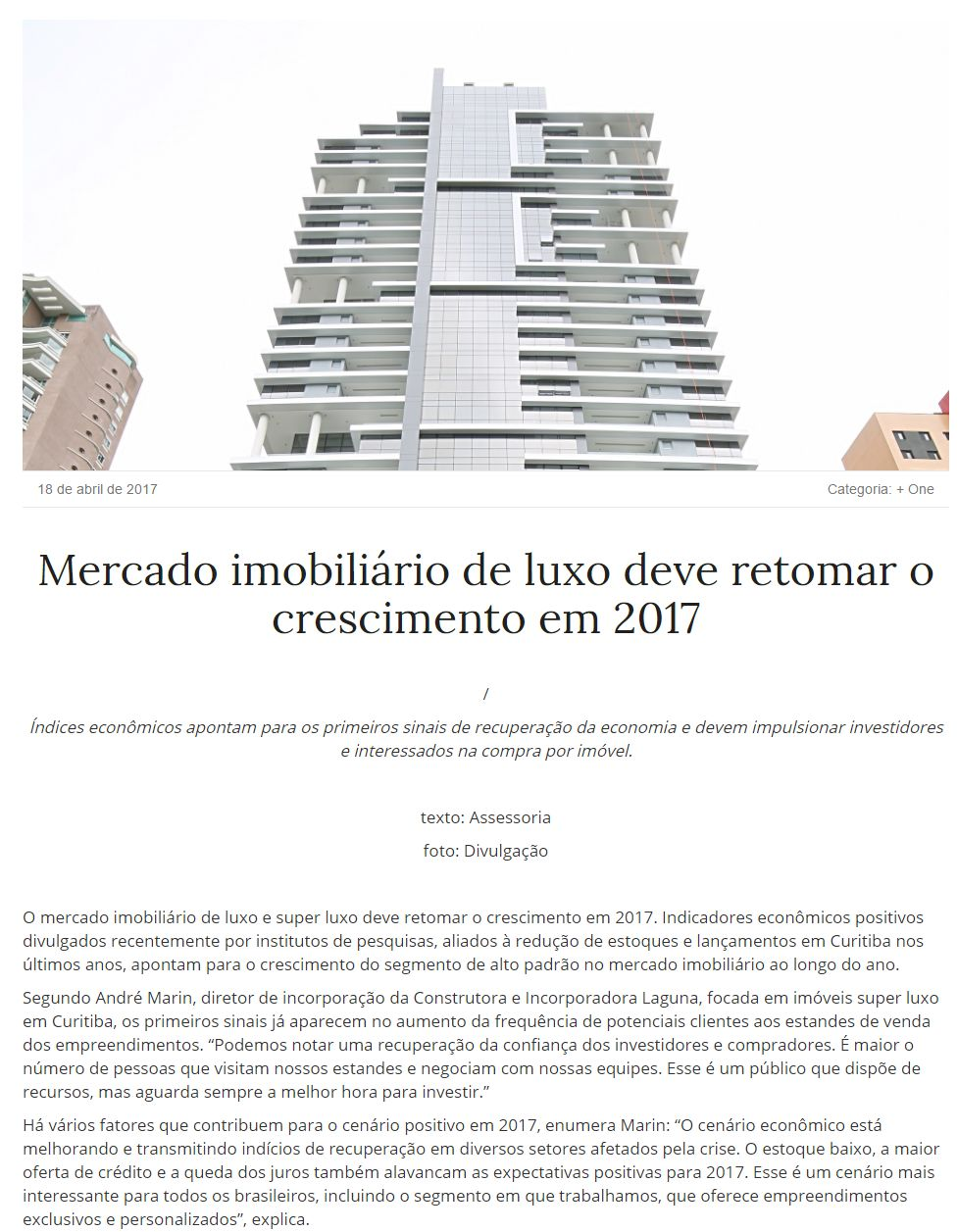 8a716fa49f6 27 ABR 2017 Portal VGV Declaração de Imposto de Renda para imóveis de alto  padrão exige cuidado ...
