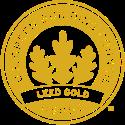 Icone da BIOOS Home com um brasão de certificado LEED Gold