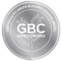 Icone da BIOOS Home com um brasão de certificado GBC